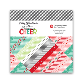 Pretty Little Studio Paper Pack | Christmas Cheer (color) 6x6 (single-sided)