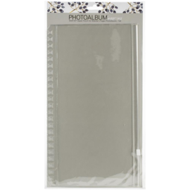 "Webster's Pages Snap-In Album Pouch Tall 6""X12"""