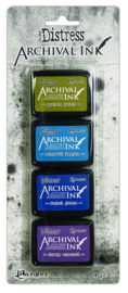 Ranger Distress Archival Mini Ink Kit 2 AITK64862 Tim Holtz