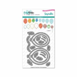 CarlijnDesign Snijmallen Ballonnen (CDSN-0097)