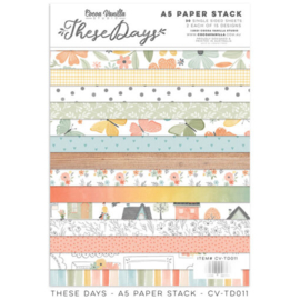 Cocoa Vanilla CV-TD011 THESE DAYS – A5 PAPER STACK preorder
