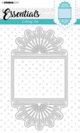 Studio Light Cut.& Emb. Die Cardshape Essentials nr.368 STENCILSL368