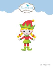 Elizabeth Craft Designs Holiday Elf - Hers 1826