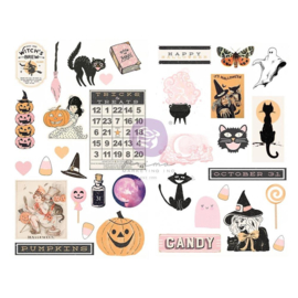 Thirty-One By Frank Garcia Chipboard Stickers 35/Pkg Shapes W/Foil Accents
