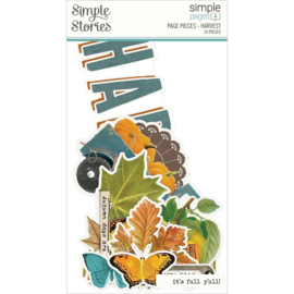 Simple Stories Simple Pages Page Pieces Harvest, Country Harvest preorder