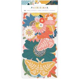 Paige Evans Bungalow Lane Ephemera Cardstock Die-Cuts Floral preorder