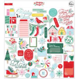 PinkFresh Cardstock Die-Cuts Holiday Magic preorder