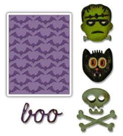 Sizzix Sidekick Side-Order Set Halloween 663072 Tim Holtz