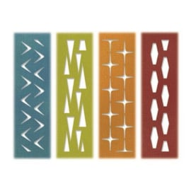 Sizzix Thinlits Die Set - 4PK Retro Repeat 664160 Tim Holtz