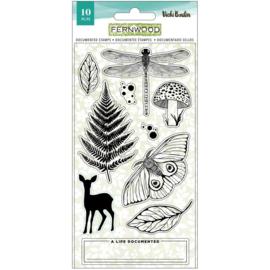 Vicki Boutin Fernwood Acrylic Stamps 10/Pkg Documented preorder