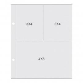 "Sn@p! Pocket Pages 4""X6"" & 3""X4""  Binders 10/Pkg"