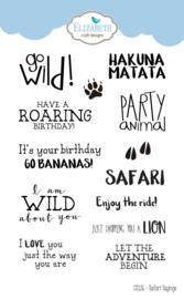 Elizabeth Craft Designs Safari Sayings CS126
