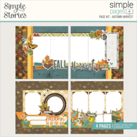 Simple Stories Simple Pages Page Kit Autumn Harvest, Country Harvest preorder