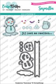 Carlijn Design Snijmallen Sneeuwpop