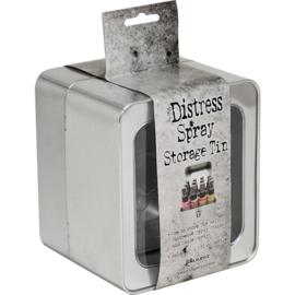 Tim Holtz Distress Oxide Spray Storage Tin Holds 12