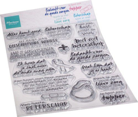 Marianne D Clear Stamps Zorg & herstel (NL) CS1080