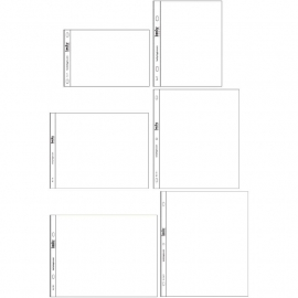 Project Life Page Protectors 12/Pkg Small Variety Pack 2