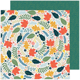 """Paige Evans Bungalow Lane Double-Sided Cardstock 12""""X12"""" #5"""