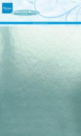 Marianne D Decoratie Metallic papier 5vl - Mint CA3140 A5