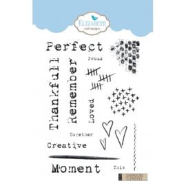 Elizabeth Craft Designs Journaling Elements CS156