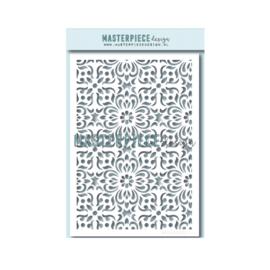 """MPdesign – A5 stencil – """"Yantra"""""""