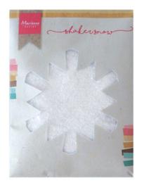 Marianne D Shaker fijne sneeuw met glitter - 50 gr LR0028