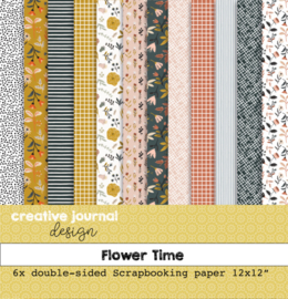 CJdesign Paper Collections – Flower Time