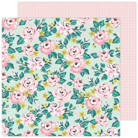 """Maggie Holmes Garden Party Double-Sided Cardstock 12""""X12"""" Blooming"""