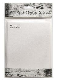 Ranger Distress Cracked Leather Paper 4.25x5.5 12 vel TDA71310