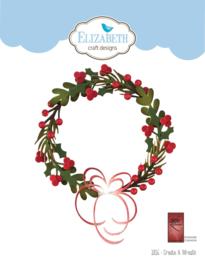 Elizabeth Craft Designs Create A Wreath 1816