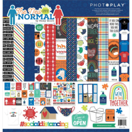"""PhotoPlay Collection Pack 12""""X12"""" The New Normal"""