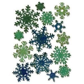 Sizzix Thinlits Die Set - Paper snowflakes mini 14PK 661599 Tim Holtz