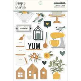 Simple Stories Simple Stories Sticker Book 12/Sheets Hearth & Home, 652/Pkg preorder