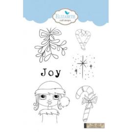 Elizabeth Craft Designs Oh the Joy of Christmas CS154