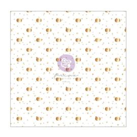 "Thirty-One By Frank Garcia Single-Sided Vellum 12""X12"" W/Foil Detail"