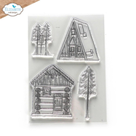 Elizabeth Craft Designs Cabin Love CS248