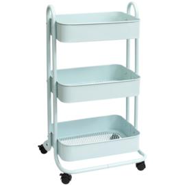 We R Storage Cart Pale Blue