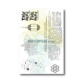 MP Design Clearstamps 4×6″ – Bee more