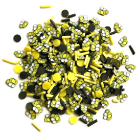 Buttons Galore Sprinkletz Embellishments 12g Bumble Bees