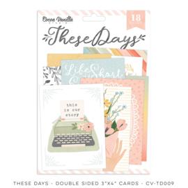 Cocoa Vanilla CV-TD009 THESE DAYS – POCKET CARDS