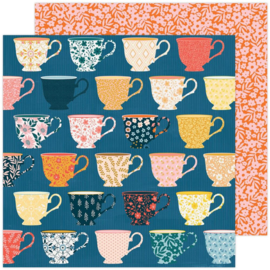 """Paige Evans Bungalow Lane Double-Sided Cardstock 12""""X12"""" #6"""