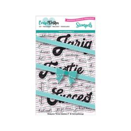 Carlijn Design Stempels Grote teksten 3