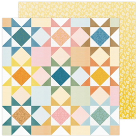 """Paige Evans Bungalow Lane Double-Sided Cardstock 12""""X12"""" #8"""