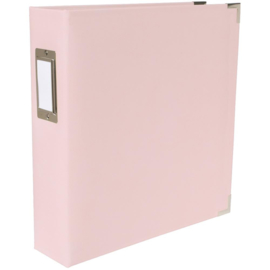 """We R Paper Wrapped D-Ring Album 8.5""""X11"""" Pink"""