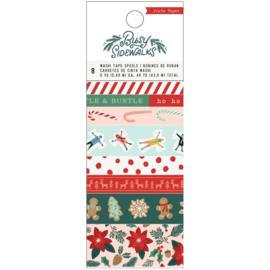Crate Paper Washi Tape 8/Pkg Busy Sidewalks Preorder