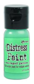 Ranger Distress Paint Flip Cap Bottle 29ml - Salvaged Patina TDF72775 Tim Holtz