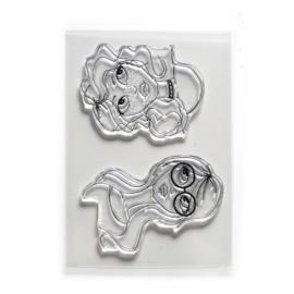 Elizabeth Craft Designs Funky Chicks CS180