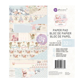 """Prima Marketing Double-Sided Paper Pad 6""""X6"""" 32/Pkg Christmas Sparkle By Frank Garcia"""