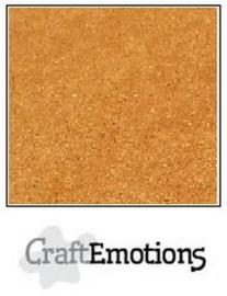 CraftEmotions karton kraft bruin 10 vel 30,5x30,5cm 220GR