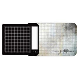 Tonic Studios Tools - Travel Glass media mat (40,0x26,0cm) 2633e Tim Holtz
